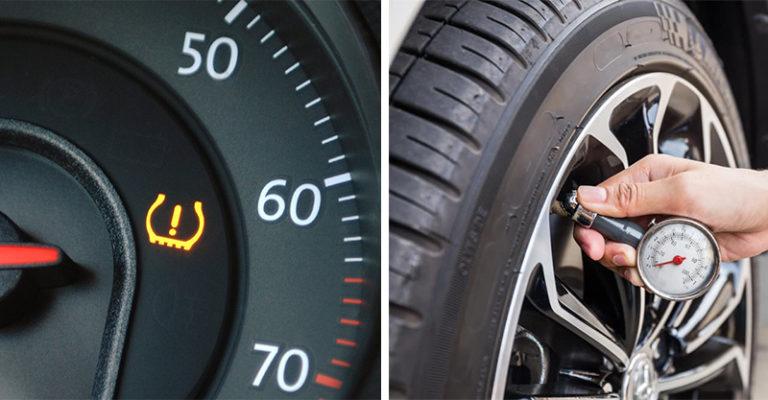 為什麼胎壓突然變低?寒流讓車內「亮警示燈」其實是另一種警訊!